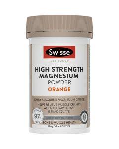 Swisse Ultiboost Magnesium High Strength Powder Orange 180G