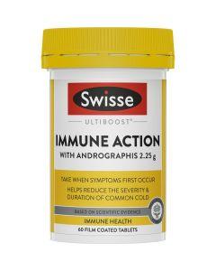 Swisse Ultiboost Immune Action 60 Tablets