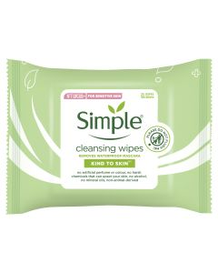 SIMPLE KTS FACE WIPES CLEANSING 25