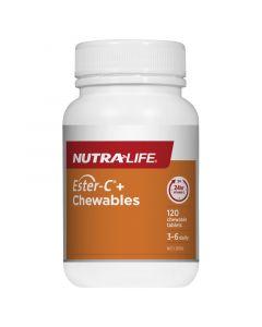Nutra-Life Ester-C® + 500 120 chewable tablets