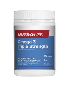 Nutra-Life Omega 3 Triple Strength 150 capsules