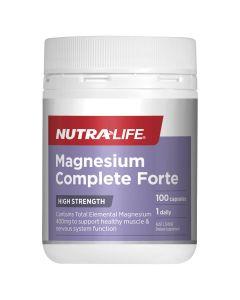 Nutra-Life Magnesium Forte Daily 100 Capsules