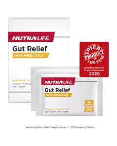 Nutra-Life Gut Relief with Prebiotics 14 Sachets