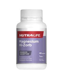 Nutra-Life Magnesium Hi-Zorb 60 capsules
