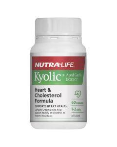 Nutra-Life Kyolic Aged Garlic Extract Heart & Cholesterol Formula 60c