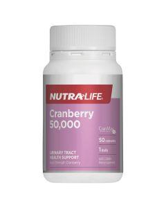 Nutra-Life Cranberry 50,000 50c