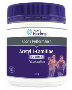 Henry Blooms Acetyl L-Carnitine 250 G Powder