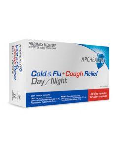 APO COLD & FLU + COUGH RELIEF DAY/NIGHT 48