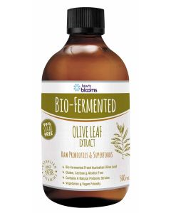 Henry Blooms Bio-Fermented Olive Leaf Extracta 500mL