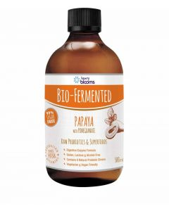 Henry Blooms Bio-Fermented Turmeric With Ginger And Black Peppera 500mL