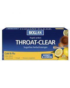 Bioglan Honey&Lemon T/C Cdu