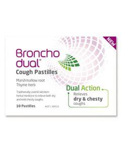 Bronchodual Cough Pastilles 10S