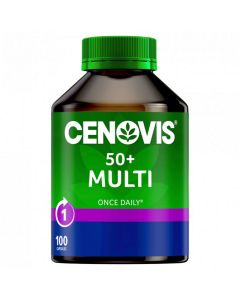 Cenovis Once Daily 50+ Multi 100 Capsules