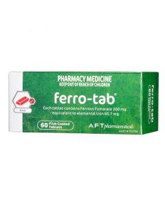 FERRO TABS 200MG 60 TABLETS