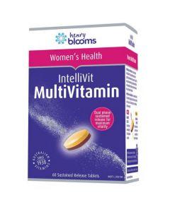 Henry Blooms Intellivit Women's Multivitamin 60 Tablets