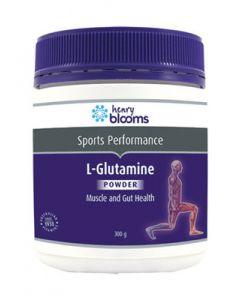 Henry Blooms L-Glutamine 300G Powder