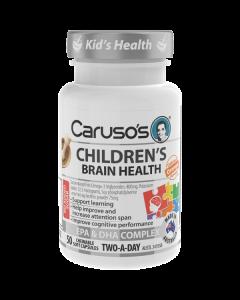 Caruso's Natural Health Children's Brain Health 50 Capsules