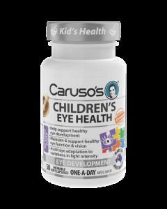 Caruso's Natural Health Children's Eye Health 50 Capsules