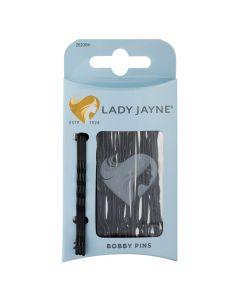 Lady Jayne Bobb Pins Blck 6.4cm Pack 25