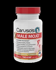 Caruso's Natural Health Male Mojo 30 Tablets