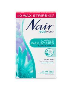 Nair Easiwax Large Wax Strips 40
