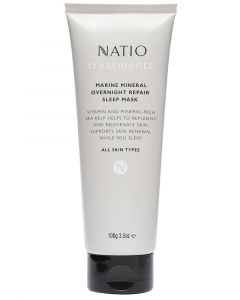 NATIO MARINE MINERAL OVERNIGHT REPAIR SLEEP MASK 100G