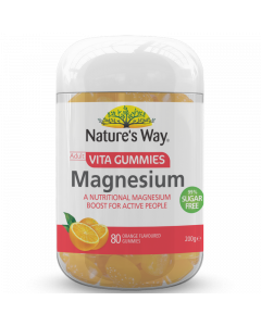 Nature's Way Adult Vg Magnesium 80S