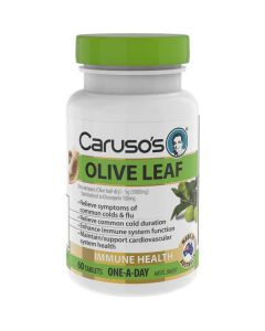 Caruso's Natural Health Olive Leaf 60 Tablets