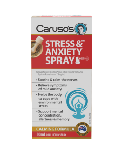 Caruso's Natural Health Stress And Anxiety Spray 30mL